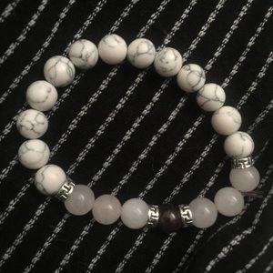 Mala bead crystal bracelet